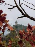偏僻的塔在圣马力诺 库存照片