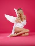 偏僻的天使 库存图片