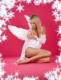 偏僻的天使 免版税库存照片