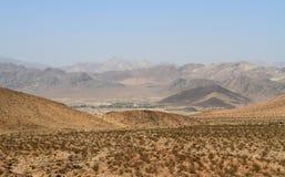偏僻的荒废村庄在加利福尼亚 库存图片