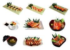 偏爱的食物日语 免版税库存图片