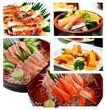 偏爱的食物日语 库存照片