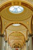 偏僻寺院、博物馆艺术和文化圣彼德堡,俄罗斯内部在圣彼得堡 库存图片