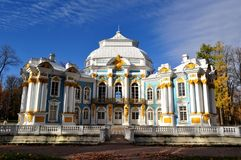 偏僻寺院大厦, Tsarskoye selo 库存照片