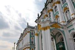 偏僻寺院(冬天宫殿) 库存照片