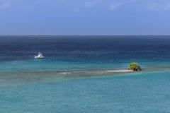 偏僻的小岛 库存图片