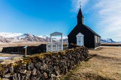 偏僻的教会 库存图片