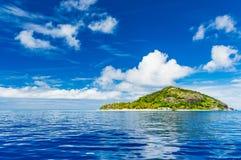 偏僻的海岛度假村 库存照片