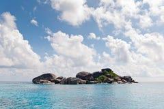 偏僻的海岛 库存照片