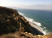 偏僻的海岸 库存照片