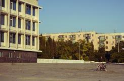 偏僻的自行车 免版税库存图片
