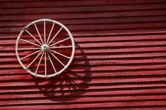 偏僻的轮子 库存照片