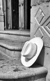 偏僻的阔边帽 库存照片