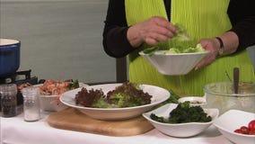 做一道蔬菜沙拉 股票视频