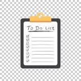 做与手拉的文本的名单象 清单,任务单vecto 库存照片