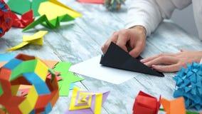 做与黑纸的origami 股票录像