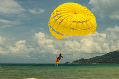 做和看见的许多事在Patong海滩泰国 库存照片