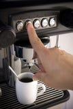 做咖啡浓咖啡 库存图片
