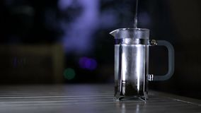 做咖啡,其中一个阶段 影视素材