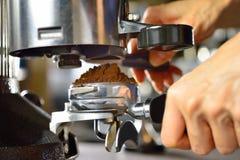 做咖啡 图库摄影