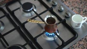 做土耳其咖啡在罐 股票视频