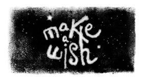 做在上写字在与雪和Luma铜铍的一个停帧里面的一个愿望 股票视频