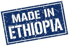 做在埃塞俄比亚邮票 库存例证