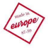 做在欧洲不加考虑表赞同的人 库存图片