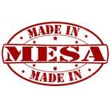 做在Mesa 皇族释放例证