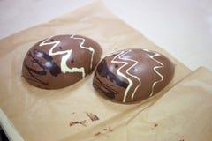 做巧克力 巧克力工厂 库存图片