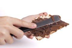 做巧克力 图库摄影