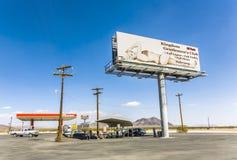 做广告为妓院和酒吧 库存图片