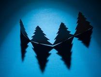 做的圣诞树 免版税库存图片