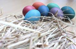 做的复活节彩蛋图象 库存图片