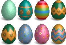 做的复活节彩蛋图象 库存照片