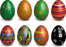 做的复活节彩蛋图象 免版税库存照片