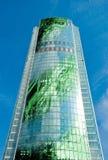 做的大厦电子 免版税库存图片
