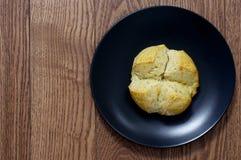 做的小圆面包家 免版税库存照片