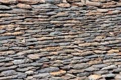 做的屋顶石头 免版税库存照片