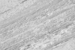 做的模式准备的滑雪倾斜雪除雪机 免版税图库摄影