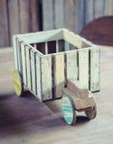 做的玩具木头 免版税库存照片
