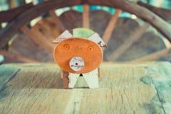做的玩具木头 免版税图库摄影