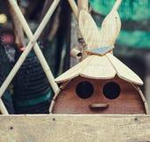 做的玩具木头 库存图片
