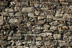 做的石墙 库存照片