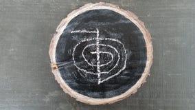 做的能源强制日本ki寿命意味rei reiki符号二普遍性措辞字 免版税图库摄影