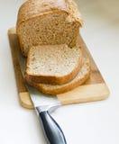 做的面包新家 免版税库存图片
