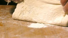 做皮塔饼用肉和村庄食物 股票录像