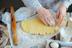 做自创的面包店,姜饼曲奇饼特写镜头 xmas swee 库存图片