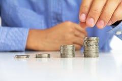 做货币概念 免版税图库摄影