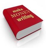 做金钱文字书套标题赢得专业作者 皇族释放例证